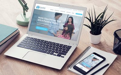 Website Design Customer Case Study – Deerfield Dermatology